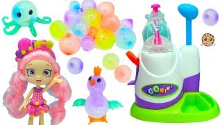 Oonies Animal Balloon Like Bubbles Machine Maker with Shopkins Shoppies Doll
