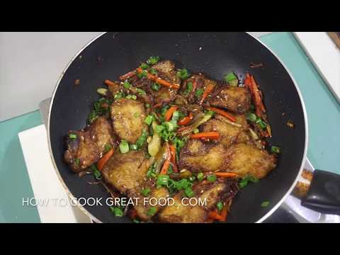 Chinese Stir Fry Crispy Fish Recipe – Asian Wok