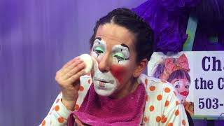 Clown Makeup Demo-Cha Cha The Clown