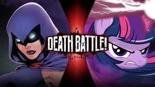 Raven VS Twilight Sparkle (DC VS My Little Pony) | DEATH BATTLE!