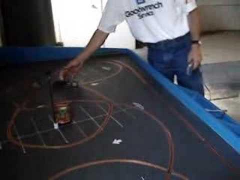 I built this track! Gear Grinder Autocross  slot car track