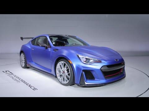 Subaru BRZ STI Concept - 2015 New York Auto Show