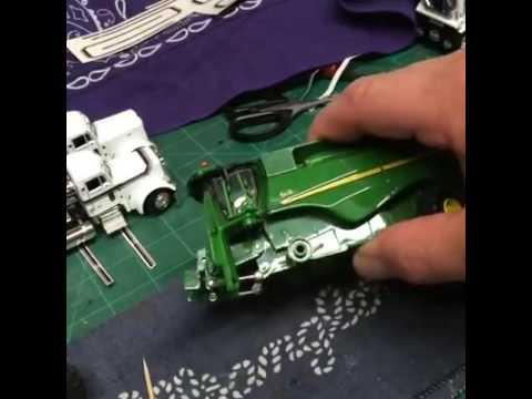 How to make an Ertl John Deere S690 into a S670