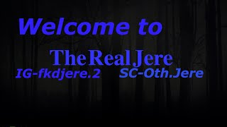 Introducing my channel || The Real Jere