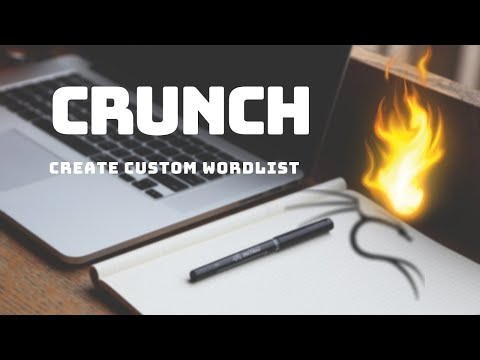 Wordlist Generation with Crunch - Kali Linux (HD) - смотреть