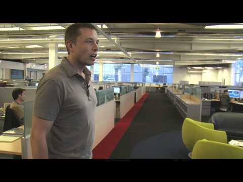 Elon's SpaceX Tour – Offices