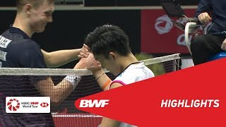 Singapore Open 2019 | Semifinals MS Highlights | BWF 2019