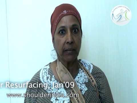 Shoulder resurfacing & replacements in India