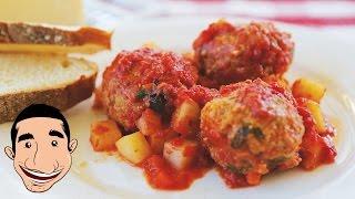 ITALIAN MEATBALLS RECIPE   How To Make Italian Meatballs Vincenzo's Kitchen Basics