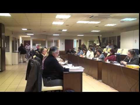 Δημ Συμβούλιο 16-2-15 Τοποθετήσεις κ. Πάλμου, Τζιορτζιώτη