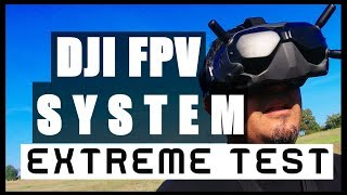 DJI DIGITAL FPV SYSTEM !?!? | Extreme TEST vs Analog Video Signal | On field REVIEW
