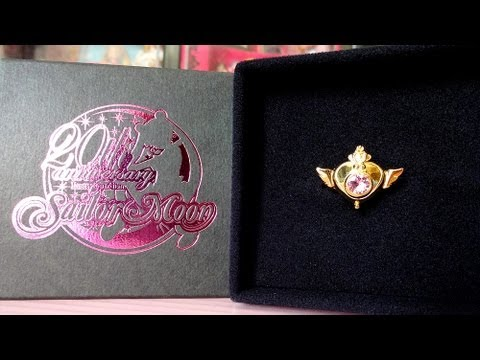 Sailor Moon Crisis Brooch 18k Gold Ring from Premium Bandai Review