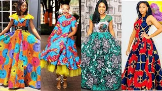 2020 AFRICAN PRINT DESIGNS:  MOST THRILLING,ASTONISHING & COLORFUL #AFRICAN DRESSES FOR FASHIONISTAS