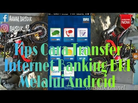 Cara Transfer Internet Banking BRI Lewat Android