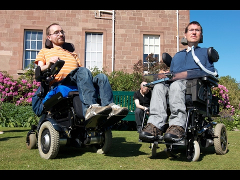 Screenshot of video: A Life worth living -a film showing adults with Duchenne Muscular Dystrophy