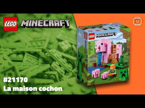 Vidéo LEGO Minecraft 21170 : La Maison Cochon