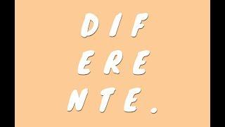 """""""Diferente""""- Monica Carrillo"""