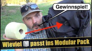 Wieviel Klopapier passt in TT Modular Pack 30 | GEWINNSPIEL