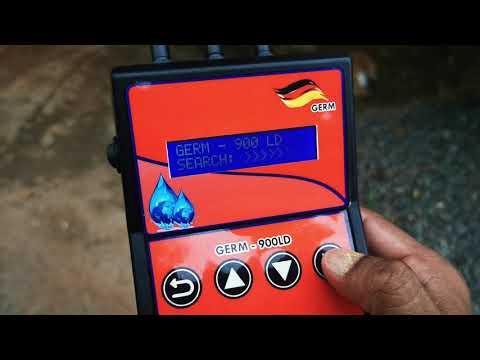 Advanced German Technology- Locator & Scanner Ground Water Detector-