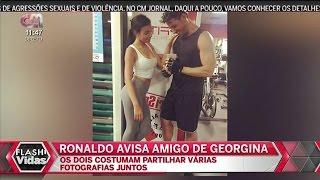 Cristiano Ronaldo AVISA Amigo De <b>Georgina Rodriguez</b>