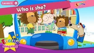 Bài 13_ (B) Cô ấy là ai? - Cartoon Câu chuyện