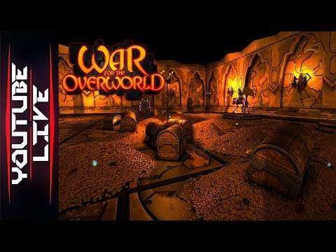 Lets Manage Some Dungeons | War for the Overworld (видео)