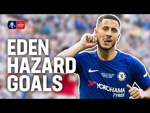 Eden Hazard: Every FA Cup Goal & Assist! | Emirates FA Cup