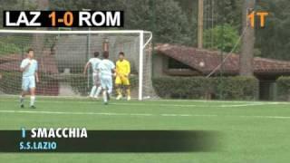 Lazio-Roma: il derby di ritorno dei Giovanissimi  2009 (gli highlights)