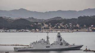 Marina Militare - Speciale partenza campagna di nave Carabiniere per Australia e sud-est asiatico