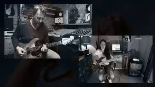 Video Steve Vai - Liberty (cover by ZDENO HUŤA, ANNA PORTALUPI)