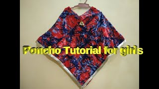 how to make triangle poncho - Free video search site