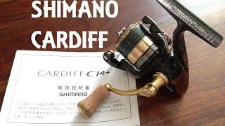 Shimano cardiff ci4 12 c2000ss