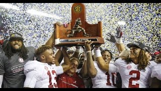 Alabama vs. Florida SEC CHAMPIONSHIP Highlights 2016 (HD)