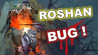 Dota 2 Tricks: 7.07 NEW SOLO ROSHAN BUG!