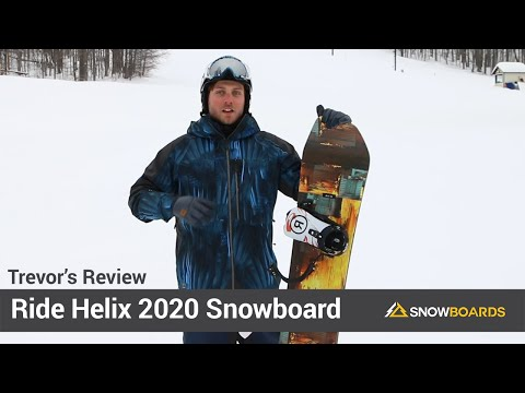 Video: Ride Helix Snowboard 2020 23 50