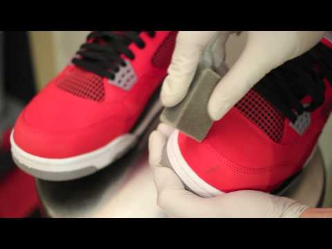 Cleaning Nubuck or Suede - PART 1