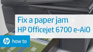 HP OfficeJet Pro 8500 Paper Jam Mystery Solved - Самые лучшие видео
