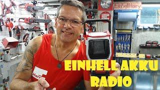 Einhell PXC Akku Radio TE-CR 18 Li #einhellharry #powerxchange