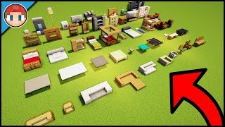 50+ Minecraft Furniture Ideas and Build Hacks - You Can Build As Well!