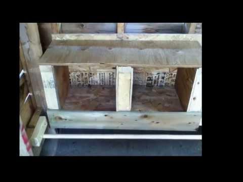 comment construire petit poulailler
