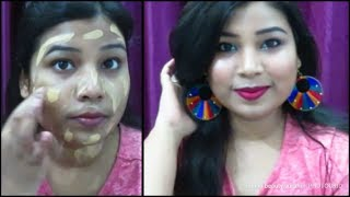 No Foundation Easy Glam Makeup Tutorial For Beginners || Indian Beauty Surbhi - Download this Video in MP3, M4A, WEBM, MP4, 3GP