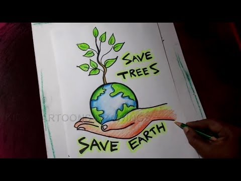 How to Draw Save Trees...