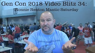 Gen Con 2018  Video Blitz 34: Mantic Saturday