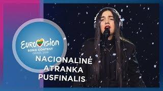 """Migloko – """"Rožės"""" - Nacionalinė Eurovizijos atranka   Pusfinalis"""