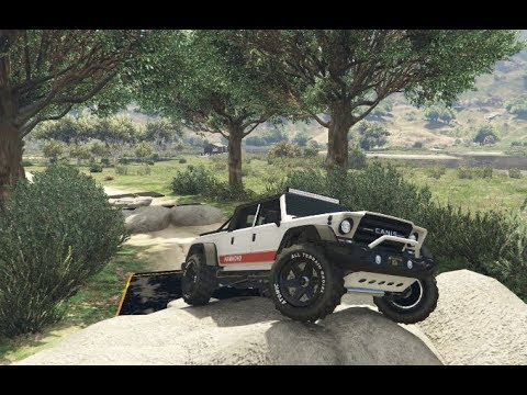 GTA 5 - Off-Road Capability - ALL Canis (Jeep) Vehicles - Kamacho, Mesa, Kalahari, Bodhi, Seminole