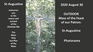 St. Augustine's Outdoor Feast Day Mass 2020
