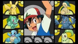 Ash's Pokemon Team GEN 2 JOHTO