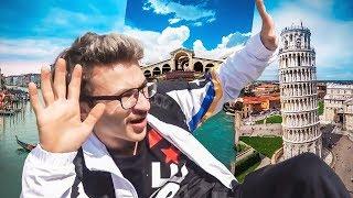 Какие-то ГАНДОЛЫ в Италии