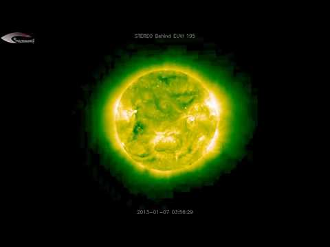 Anomalies and UFOs near the Sun – Review of NASA satellite pictures for January 7, 2013.