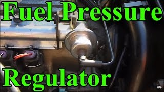 Replace Fuel Pressure Regulator